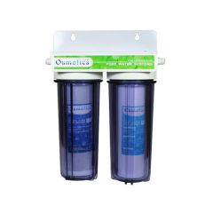 2 Stage Heavy Metal Removal Filter System and Dechlorinator