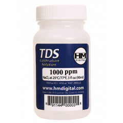 1000PPM TDS and EC Calibration Solution