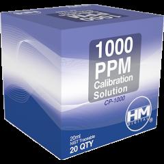 Sodium Chloride(NaCl) EC/TDS calibration solution. 20 ml 1000ppm / 2mS / 2000 µS solution box image