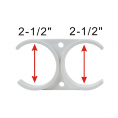 Housing to Housing Clip 2.5 Inch to 2.5 Inch