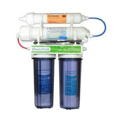 4 Stage 100 Gallon Per Day Reverse Osmosis System with DI