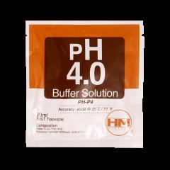 HM Digital pH 4.0 calibration solution single