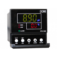 PPH-1000: Single Line pH and Temp Controller