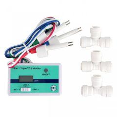 HM Digital TRM-1 Triple Inline TDS Monitor